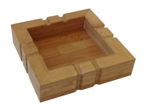 Holz-Aschenbecher