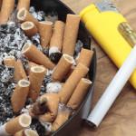 Entsorgung Asche und Zigaretten